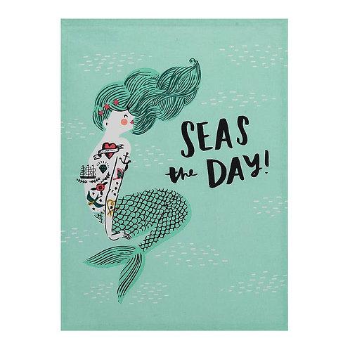 Seas the Day Tea Towel