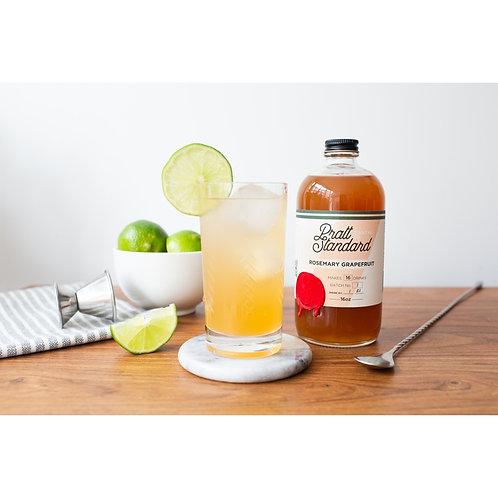 Rosemary Grapefruit Shrub