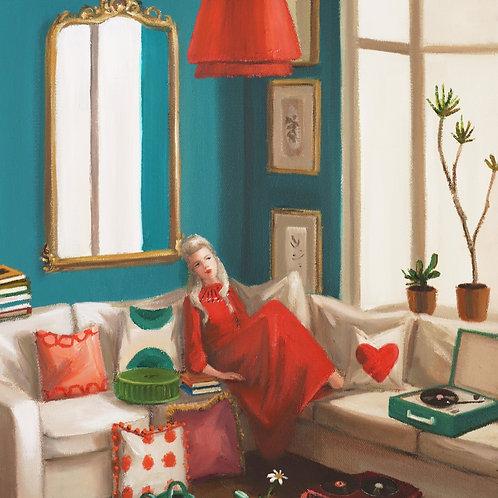 Haight Ashbury Art Print by Janet Hill