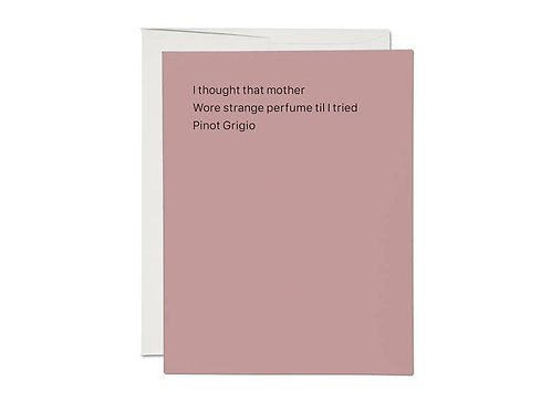 Pinot Grigio Card