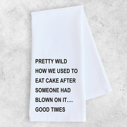 Good Times Kitchen Towel