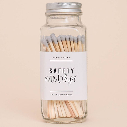 Grey Safety Matches
