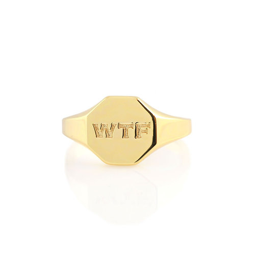 WTF Signet Ring