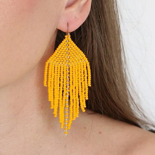 Raya Beaded Earrings - Assorted Colors
