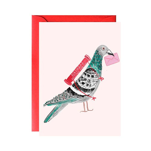Pigeon Birthday Messenger