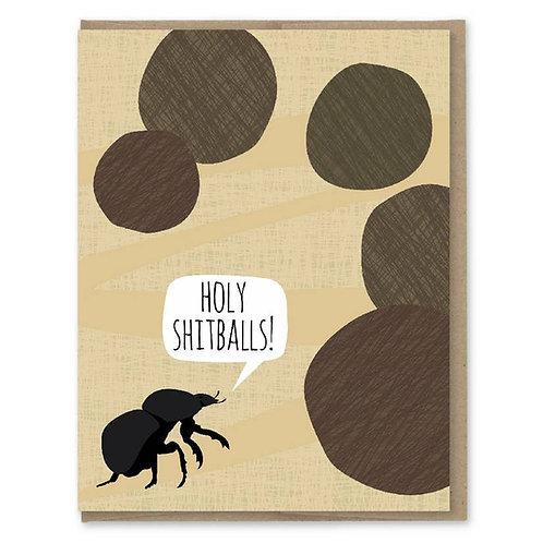 Holy Sh#tballs Congrats Card
