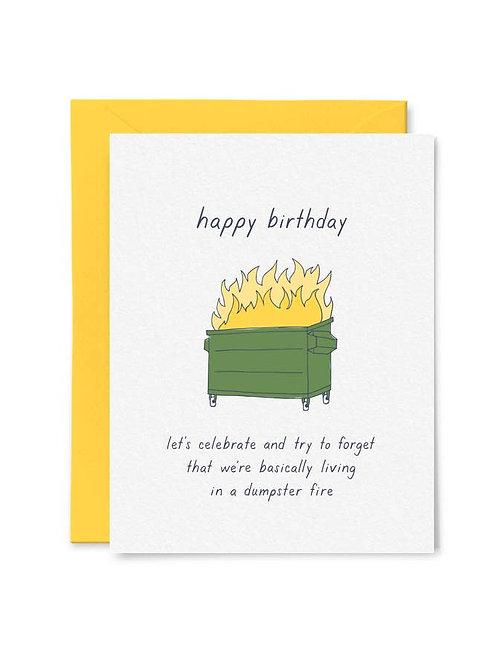 Dumpster Fire Birthday