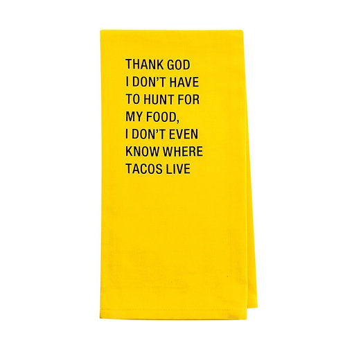 Taco Tea Towel