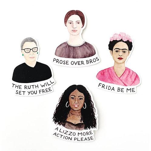 Leading Ladies Sticker Set