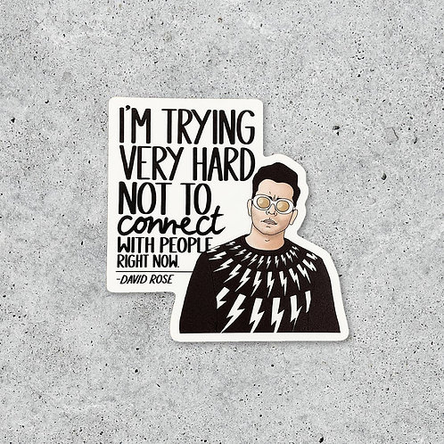 David Rose Sticker