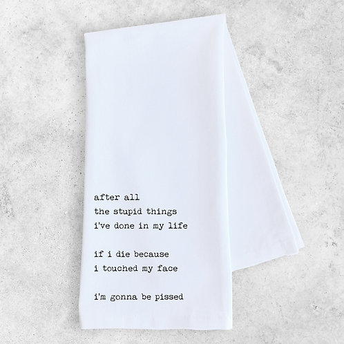 Stupid Things Kitchen Towel