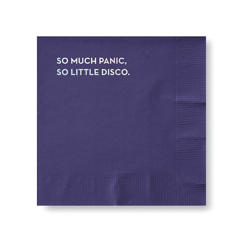 So Much Panic Cocktail Napkins