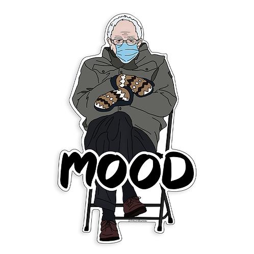 Bernie Mood Sticker