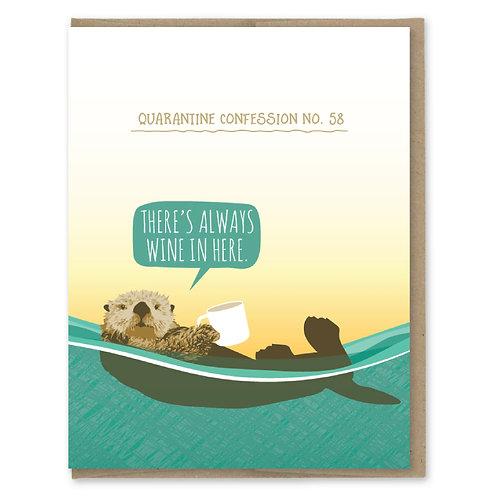 Quarantine Otter Confession