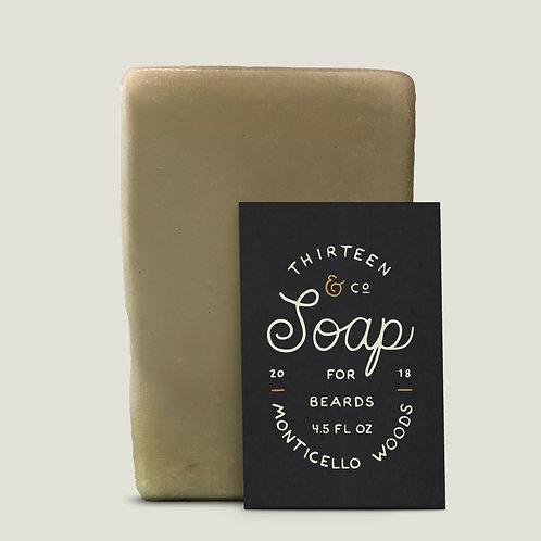 Monticello Woods Beard Soap