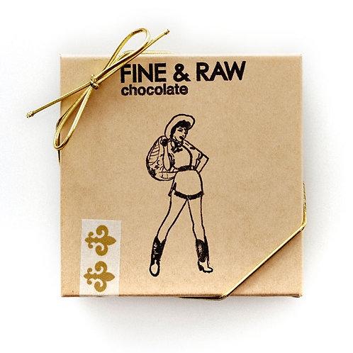 Fine + Raw Valentine's 4pc Classic Truffle Box