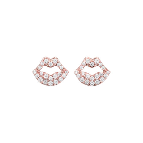 Rose Gold Lip Posts