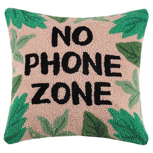 No Phone Zone Pillow