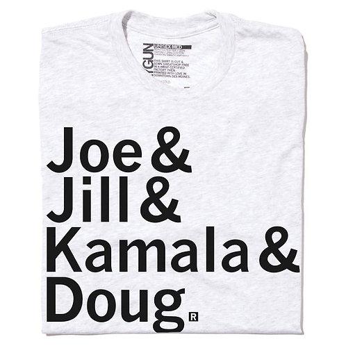 Joe & Jill, Kamala & Doug Tee