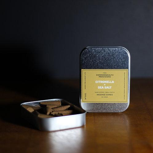Citronella and Sea Salt Incense