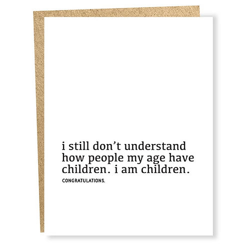 I Am Children Card