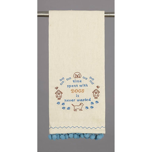 Time with Dogs Kitchen Towel