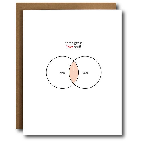 Love Venn Diagram Card