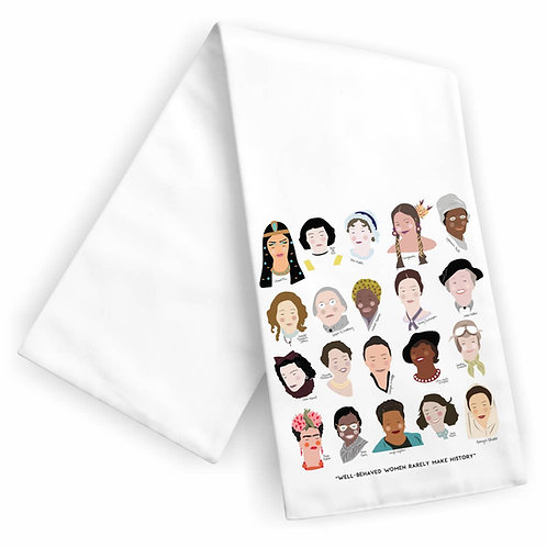 Women of History Tea Towel