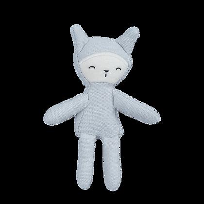 Fabelab Pocket Friend Bunny Foggy Blue