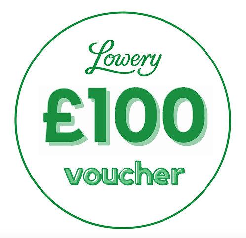 £100 Lowery Workstands Voucher