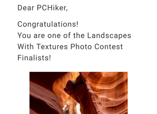 Photo Contest Finalist, 2016
