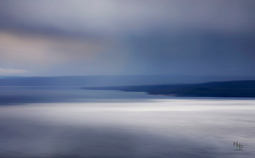 Storm over Yellowstone Lake