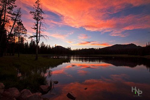 Lily Lake Sunset