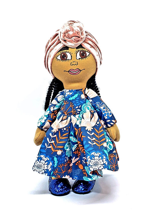 Pan African Simple lady doll