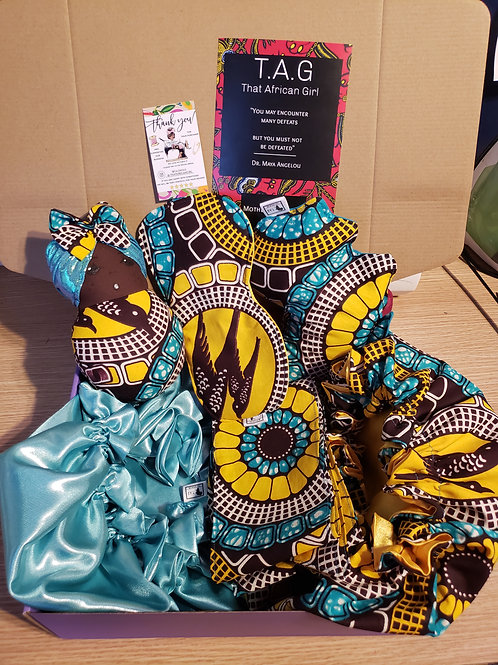 100% Ankara African Print Bundle Box