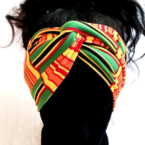 Adult Custom Stretchy Ankara Print Headband