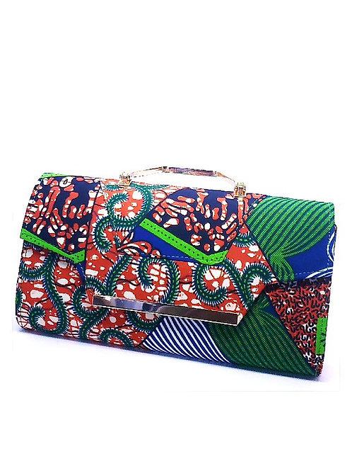 Ankara Bag Red & Green