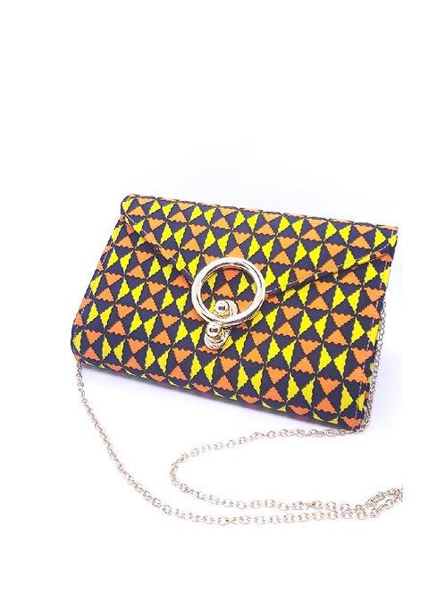Ankara Bag Yellow & Orange