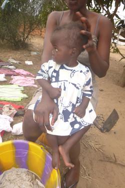 Accueil d'un enfant de 11 mois malade