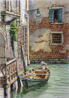 .Rio del Fontego dei Tedeschi, Venice.