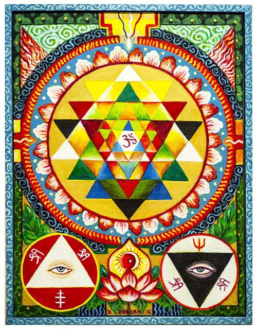 Magic Mandala 30x40