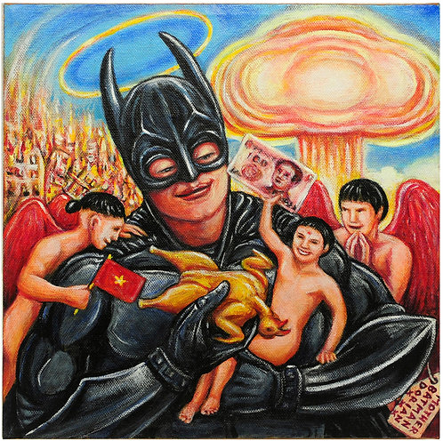 MOTHER BATMAN 30x30