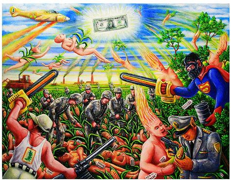 Men of Maize 100 x 130