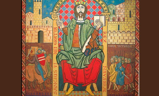 Se filtra el reparto de Navarra entre Castilla y Aragón