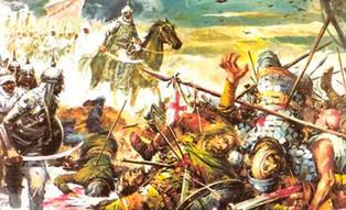 Los almohades destrozan al ejército castellano en Alarcos