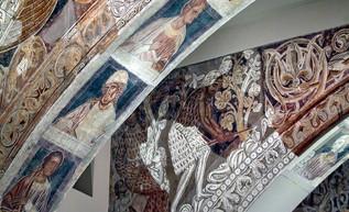 Santa María de Sijena inaugura unos frescos maravillosos