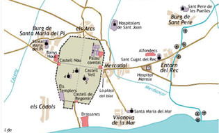 Barcelona sale de sus murallas romanas