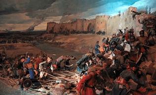 Gengis Kahn arrasa Samarcanda y destruye al imperio corasmio