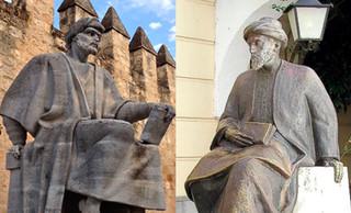 Maimónides y Averroes; prohibidos por los almohades y admirados por la Cristiandad