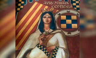 Jaime I formaliza su relación con la condesa Aurembeix de Urgel